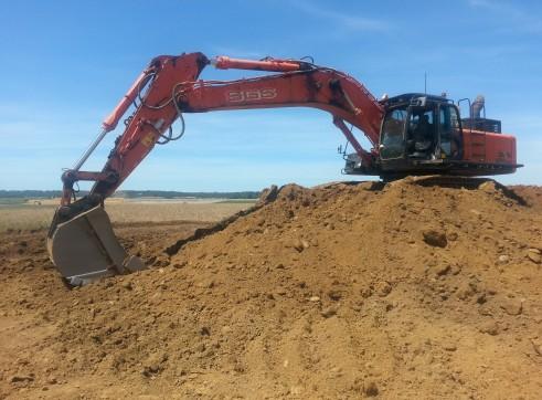 47T Hitachi ZX470 Excavator 1