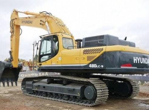 48 ton Hyundai Excavator