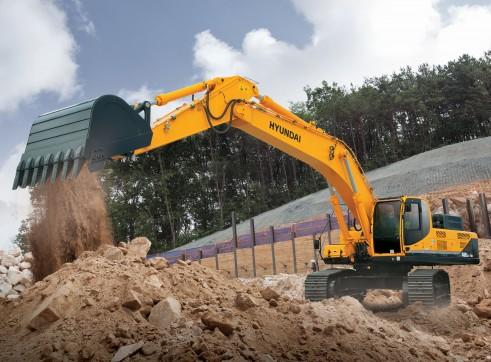 48T R480 Hyundai Excavator 1