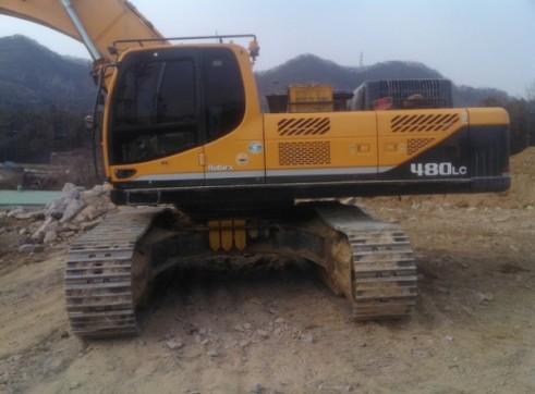 48T R480 Hyundai Excavator 2
