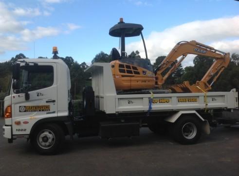 4m Tipper & 3.6T Excavator Combo 1