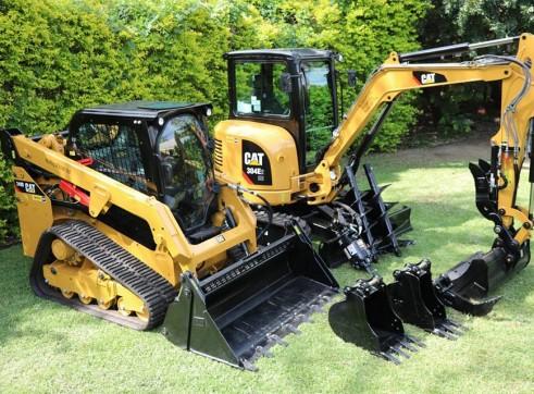 4T Combo - Caterpillar 249D & 304E2 CR 2