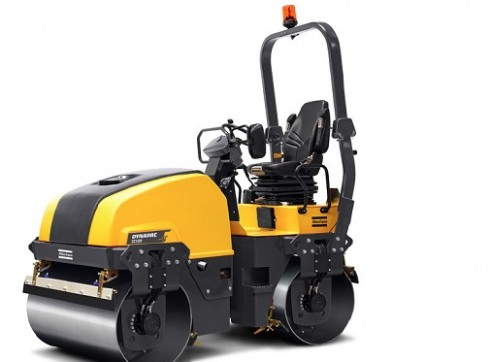 4T Dynapac Double Drum Roller 1