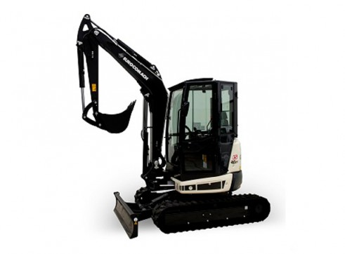 4T Eurocomach ES40ZT Mini Excavator 1