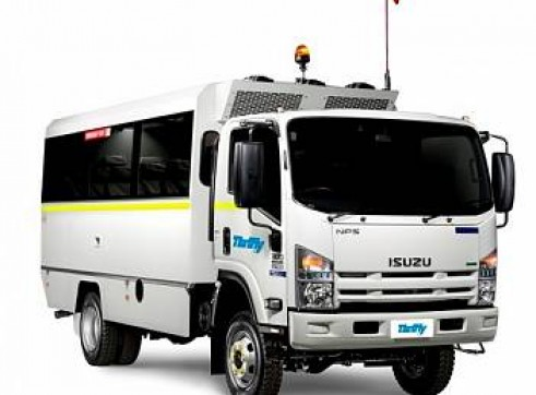 4WD 18 Seat Personnel Carrier All Terrain Fuso Warrior 4