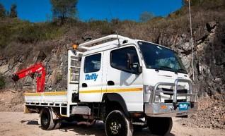 4WD 6 Tonne Single Cab Tray Truck, 1