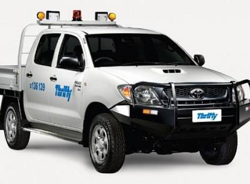 4WD Landcruiser Dual Cab Ute, Mine Equipped                1