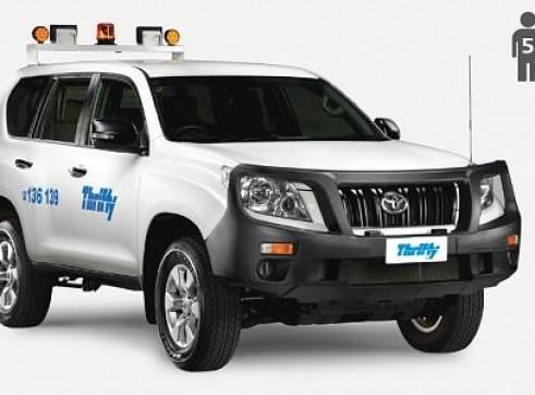 4WD Wagon (e.g. Prado), auto, mine equipped                                 1