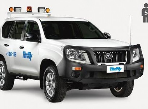 4WD Wagon (e.g. Prado), manual, safety pack                                 1