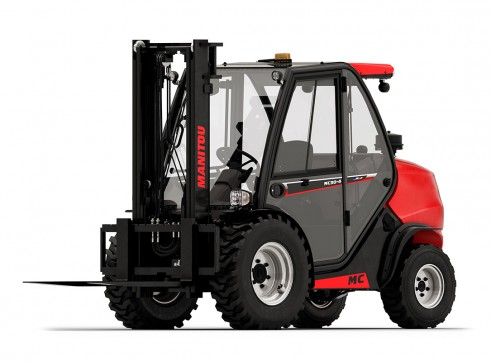 4x4 - 2.5T Manitou Buggy Forklift 1