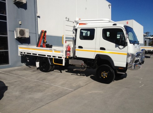 4x4  Canter Crew truck   6