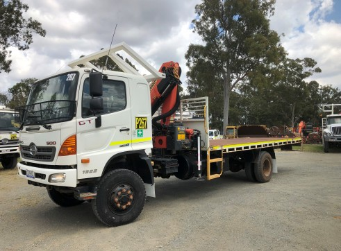 4x4 Crane Truck 1