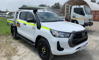 4x4 Dual Cab Utility - Mine Spec 1