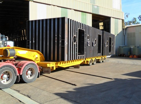 4x4 Low loader w/dolly - Drop Deck Extendables 1