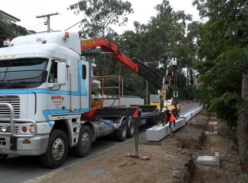 4x4 Low loader w/dolly - Drop Deck Extendables 3