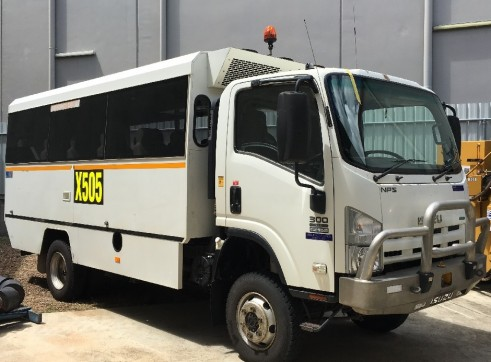 4x4 Project Bus – 18 Seats – Mine Spec 1