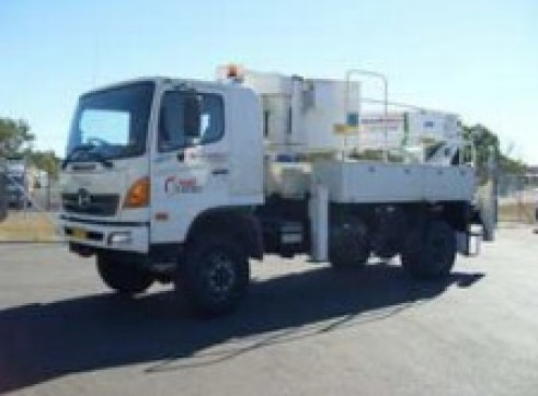 4x4 Single Cab EWP / Travel Tower - 15-18m reach 1