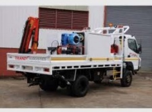 4x4 Single Cab Fitters / Mechanic Truck