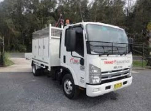 4x4 Single Cab Service Truck
