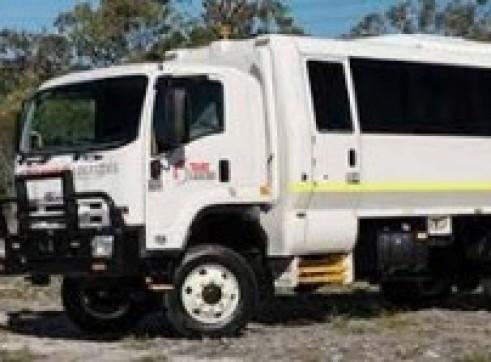 4x4 Single Cab Truck Bus - 18 x Seats 1