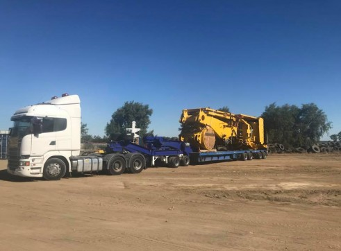4X8 Low Loader & Dolly >70ton 2
