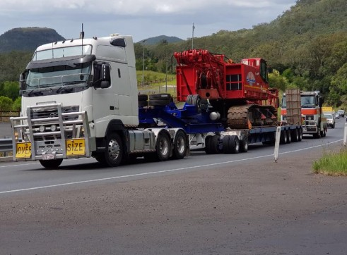 4X8 Low Loader & Dolly >70ton 3