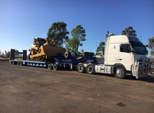 4X8 Low Loader & Dolly >70ton 4