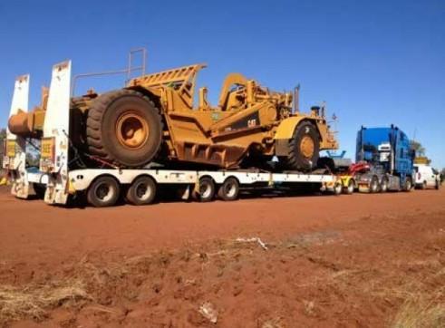 4x8 Quad low loader capacity 100t 1
