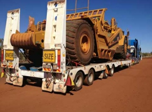 4x8 Quad low loader capacity 100t 2