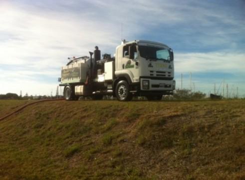 5,000L Sucker Truck/Vacuum Excavation Truck 2