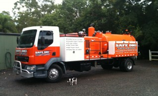 5,000L Vacuum Excavation Trucks 1