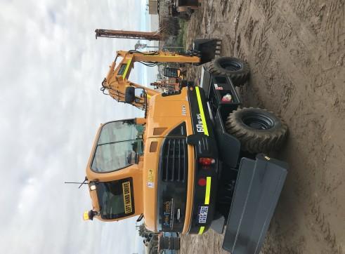 5-20T Rubber Tyre Excavators  2