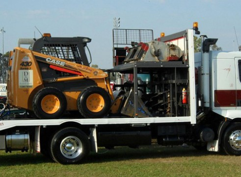 5-8T Excavator & Bobcat Combo 1