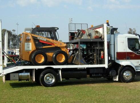 5-8T Excavator & Bobcat Combo 2