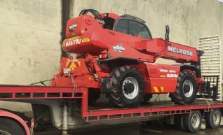 5 Tonne Manitou MRT 2150 Slewing Telehandler / Crane 1
