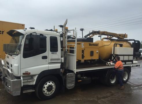 5 x 4,500L Vacuum Excavation Trucks 2