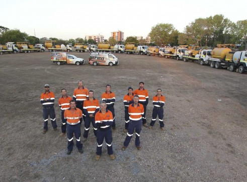 5 x 4,500L Vacuum Excavation Trucks 3