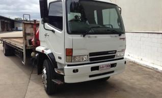 5.4T Hino Tray Truck w/7.5m tray 1