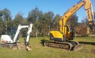 5.5 Ton Excavator Bobcat 341 1