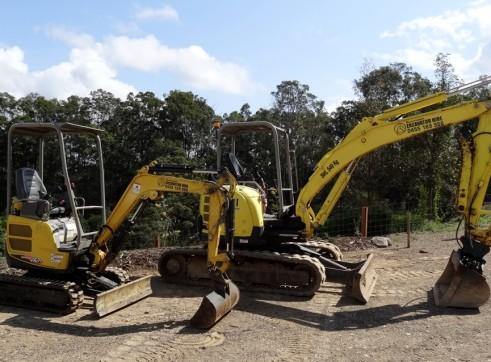 5.5 ton Yanmar Excavator 3