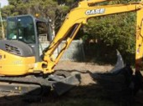 5.5T CASE CX 55BX Excavator 3
