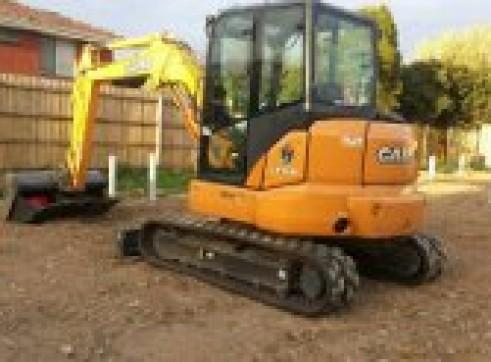 5.5T CASE CX 55BX Excavator 2