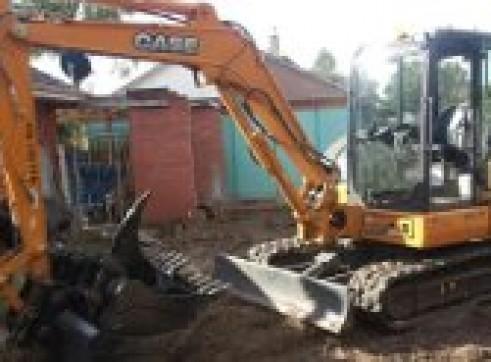 5.5T CASE CX 55BX Excavator 1