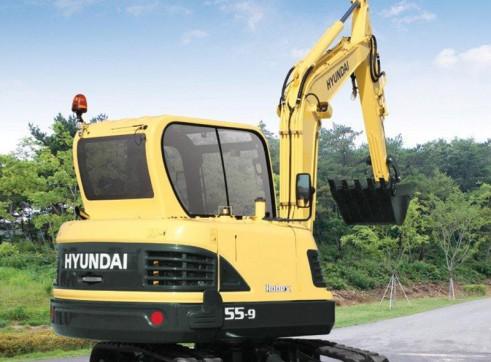 5.5T Excavator Hyundai R55-9 2