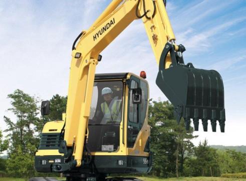 5.5T Excavator Hyundai R55-9 3