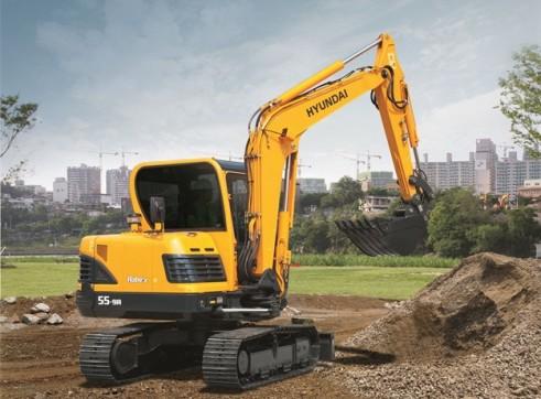 5.5T Excavator Hyundai R55-9