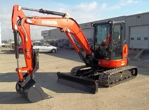 5.5T Kubota U55 Mini Excavator