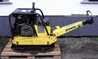 50/52 D-3 Bomag Compaction Plate 1