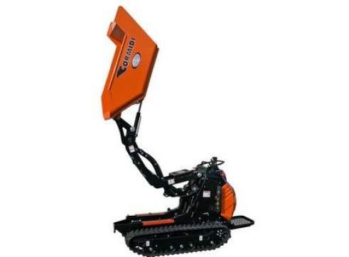 500KG TIGHT ACCESS HIGH TIP TRACKED MINI DUMPER 1