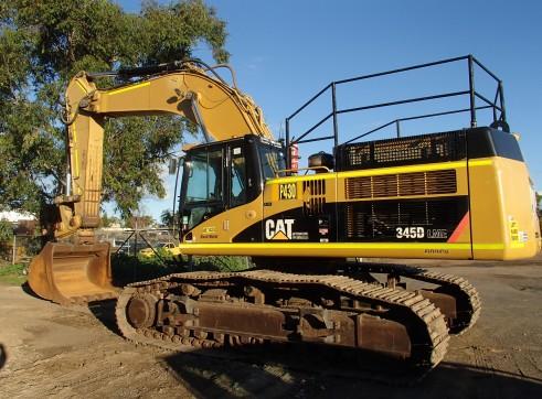 50T Caterpillar Excavator 1